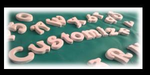 letters custom